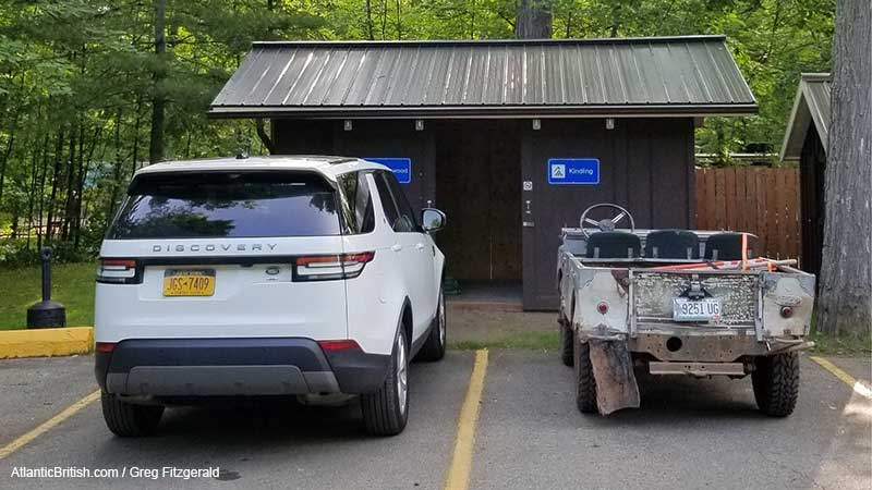 Discovery 5 And Land Rover Series At OVLR