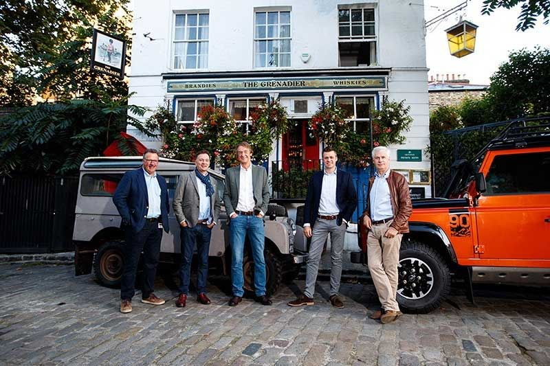 Jim Ratcliffe and the INEOS team