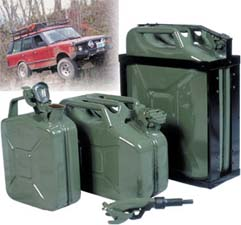 3 Jerry Cans with Accessories