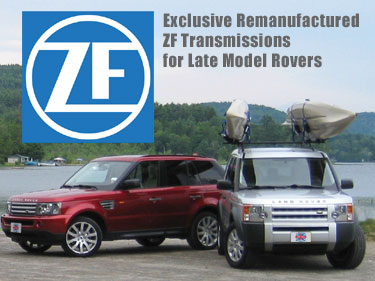 ZF Transmissions for Late Model Land Rovers