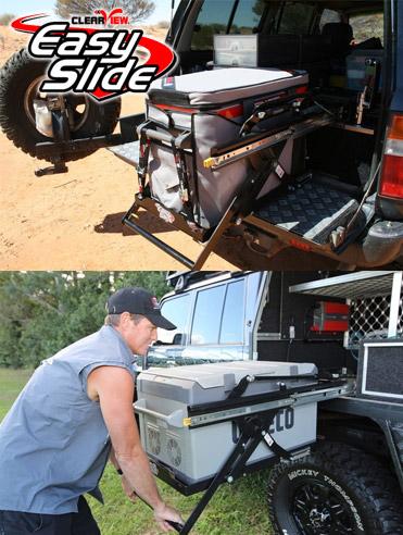 EasySlide Lowering Travel Fridge Slides
