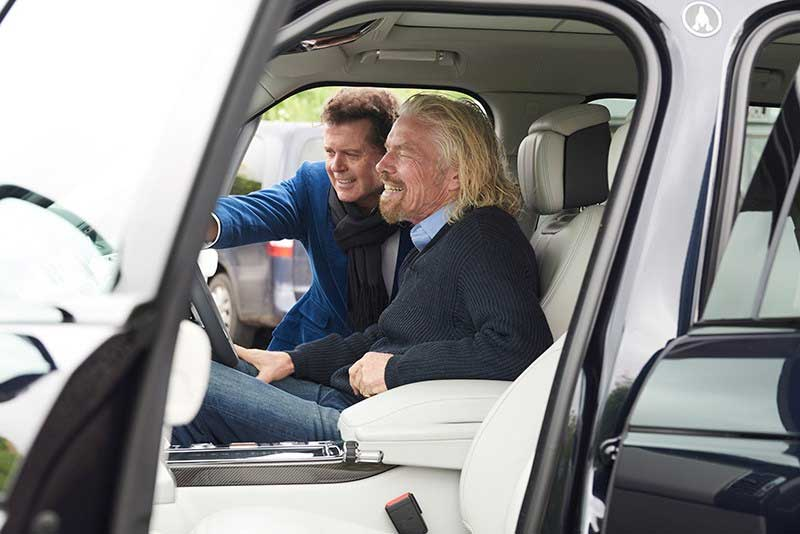 Range Rover Astronaut Edition With Gerry McGovern And Richard Branson