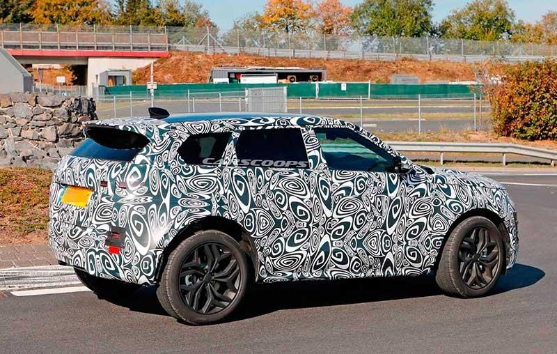 Range Rover Evoque Spy Shot