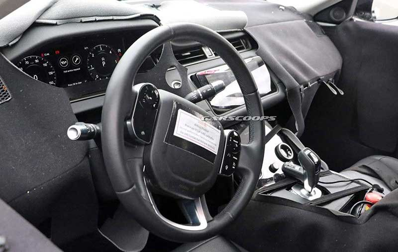 New Range Rover Evoque Interior