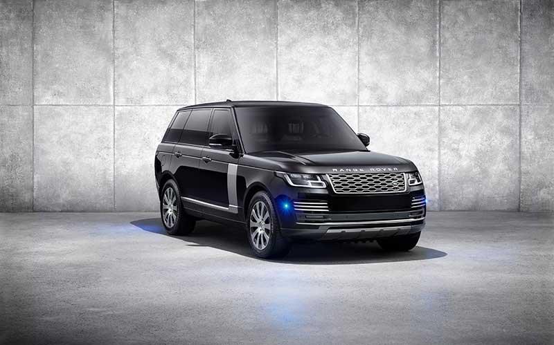Range Rover Sentinel Promo Shot