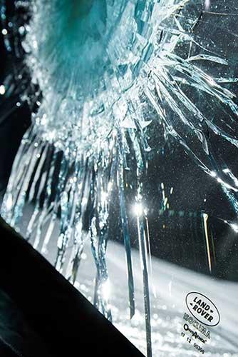 Bullet Glass Test For Range Rover Sentinel