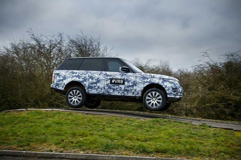 Range Rover Sentinel Mule