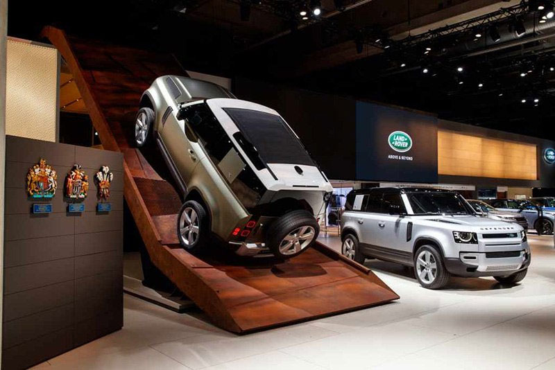 Land Rover 2020 Defender Display At Frankfurt Auto Show
