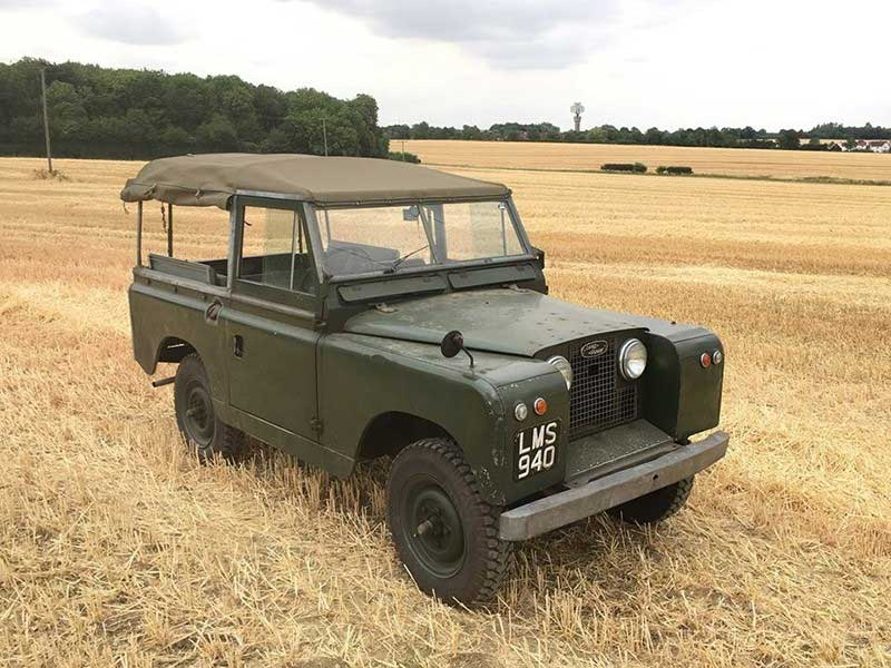 Series 2 Land Rover Chassis 64