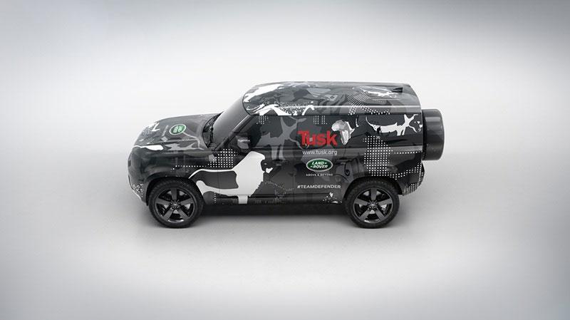 Tusk Trust Sponsored Land Rover Defender