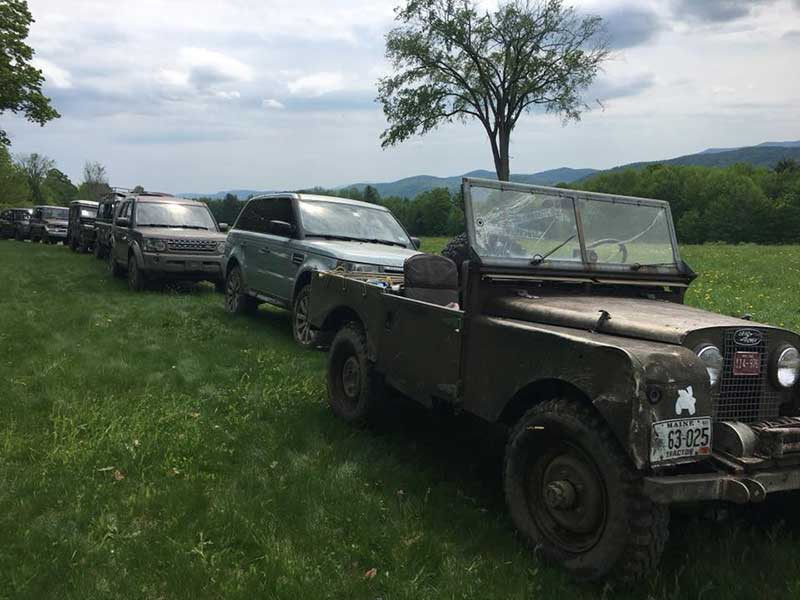 Land Rovers ready for VOLR 2018