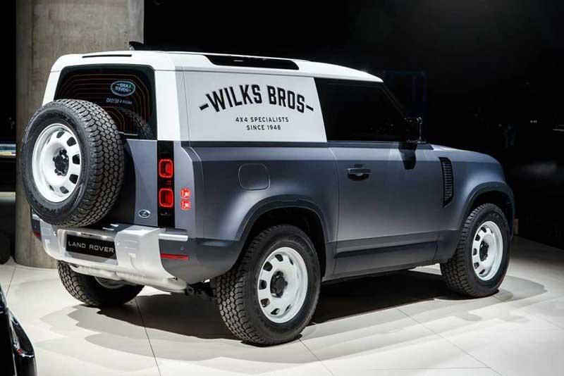 Commercial 2020 Land Rover Defender 90