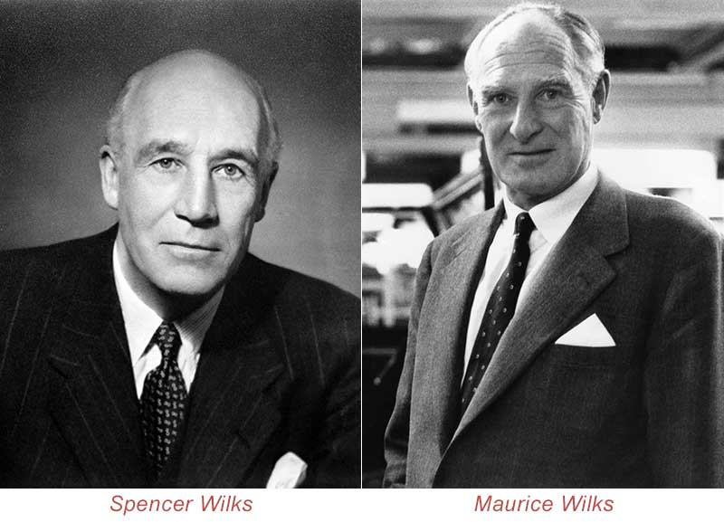 Spencer and Maurice Wilks