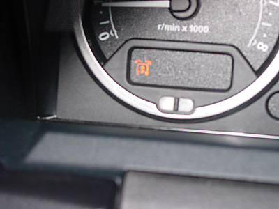 Air Suspension Warning Indicator