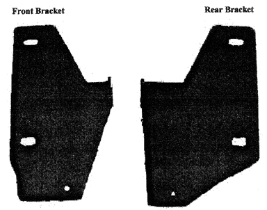 side step brackets