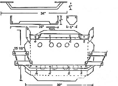 Gear Box Guard Installation Diagram