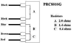 Existing Genuine Resistor Wiring Diagram