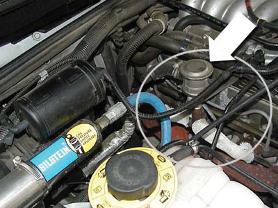 secondary air injection engine