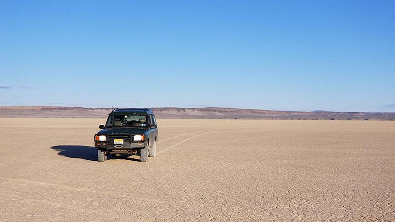 Discovery I at Alvord Desert