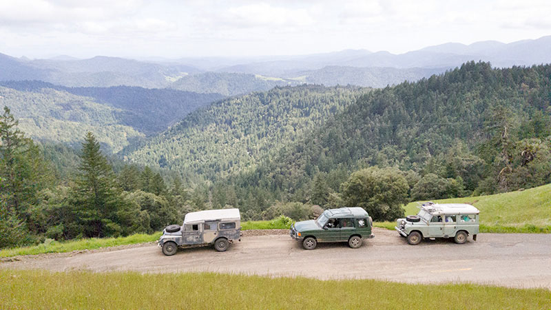 Discovery I in Northern California