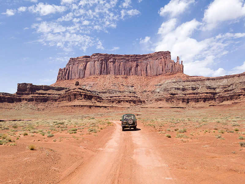 Discovery I on White Rim Road
