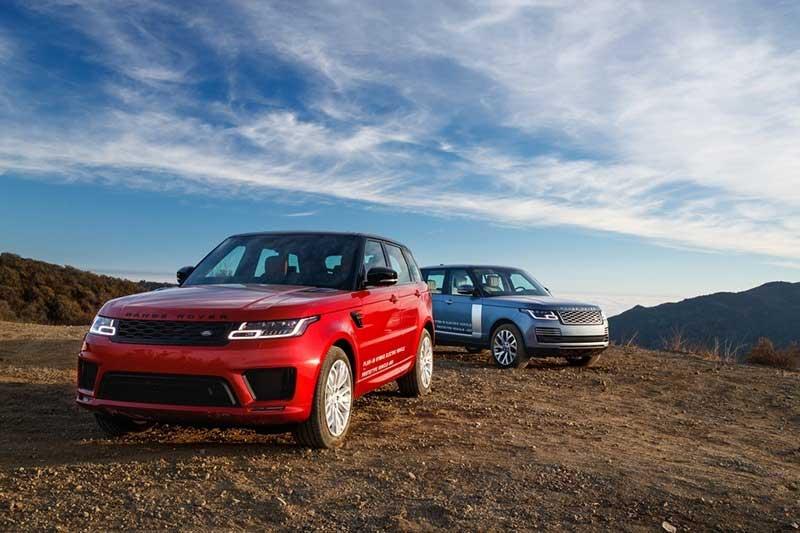 2 Range Rover Sport plug-in hybrids