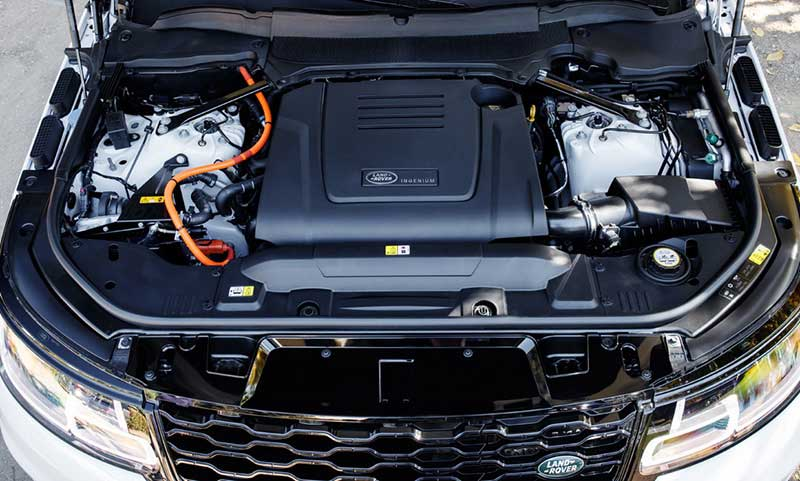 Range Rover Sport plug-in hybrid engine