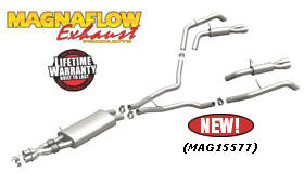Magnaflow Performance Stainless Steel Exhaust System - Cat-Back - Dual - Exit / Dual-Tip for LR4