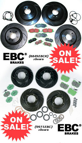 EBC Performance Brake Rebuild Kits On SALE!