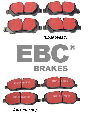 Brake Pads from EBC Brakes On SALE!