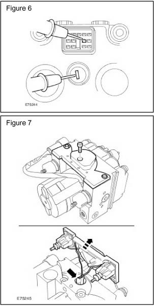 land rover freelander abs pump repair kit part number ref