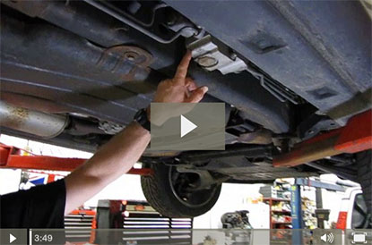 ACE filer and fluid service video for Range Rover Sport
