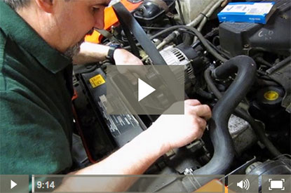 serpentine belt routing video