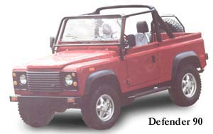 Land Rovers - Defender
