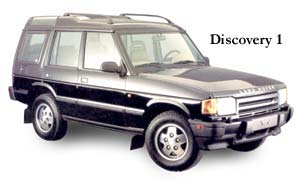 Land Rovers Discovery I