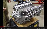 long block Land Rover engine