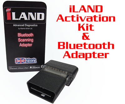 iLAND activation kit and Bluetooth adapter