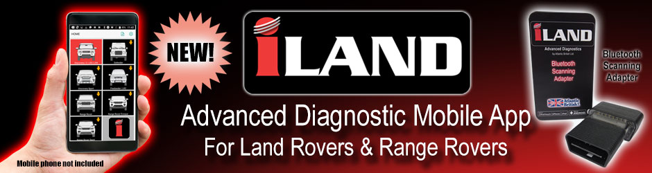 New iLAND Advanced Diagnostic Mobile Toll And App For Land Rovers & Range Rovers