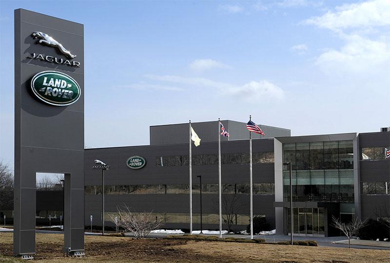 new Jaguar Land Rover North America headquarters