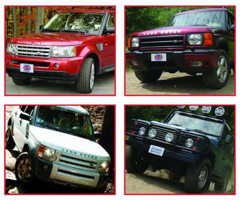 land rover vehicle collage land rover tech tips, maintenance & problem troubleshooting for  at webbmarketing.co