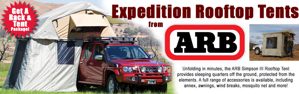 Expedition Rooftop Tents from ARB