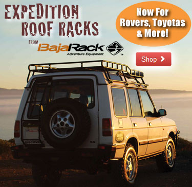 Expedition Roof Racks and Accessories from Baja Rack