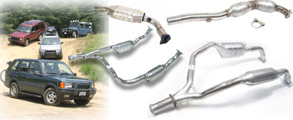 Land Rover Catalytic Converters