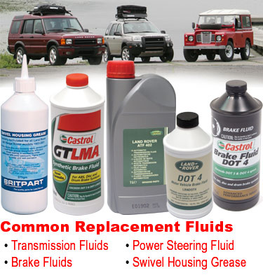 Atlantic British stocks the right Land Rover fluids you need to keep your vehicle in top working order.