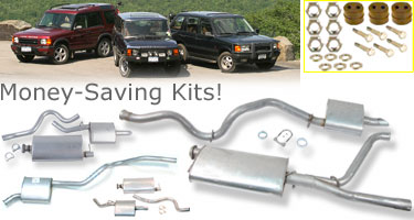 Land Rover Standard Exhaust Kits