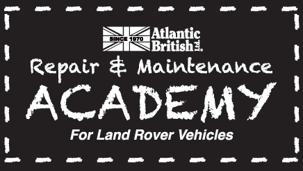 Atlantic British Repair and Maintenance Academy for Land Rover Vehicles