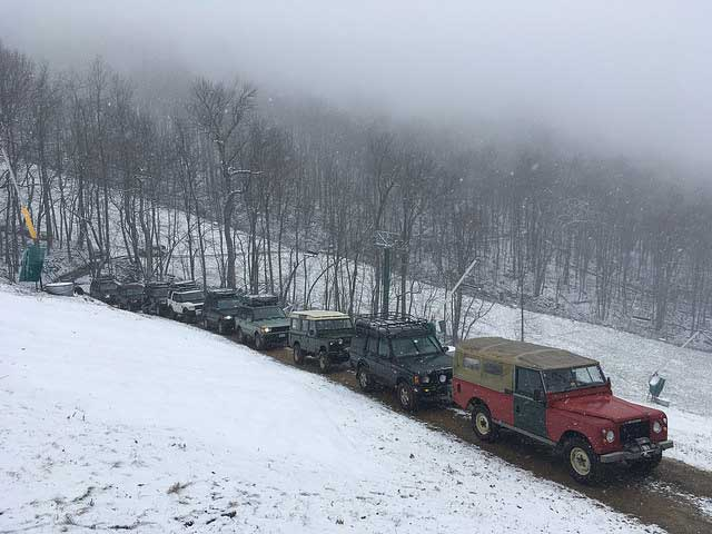 Rovers At Wintergreen